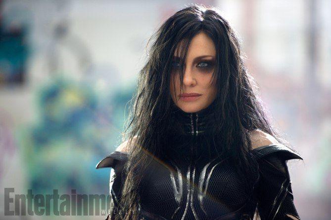 Hela (Cate Blanchett) in Thor: Ragnarak