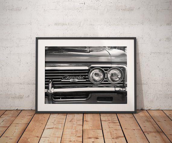 Pin By Kati Kaeramaa On Art Drawings Vintage Car Decor Car Wall Art Old Classic Cars