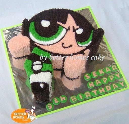 Power Puff Girl by better homes cake, via Flickr