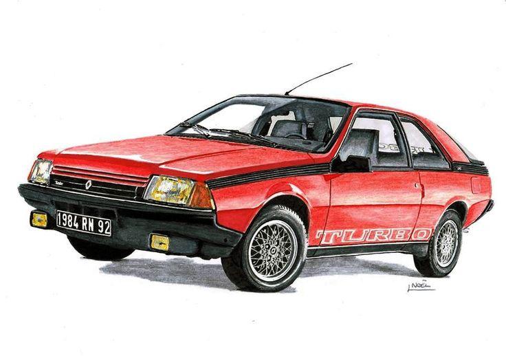 129 best images about dessins de voitures car drawing on pinterest car illustration - Dessin renault ...