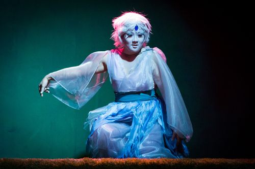 Anne Kobori as our Ariel chick.  The Tempest 2015. http://www.svshakespeare.org