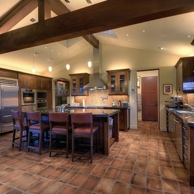 38 best images about spanish kitchen on pinterest stove mediterranean kitchen and old mansions - Space saving movable kitchen island get efficient kitchen traffic ...