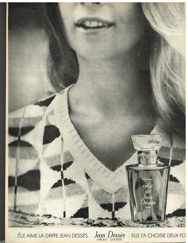Jean Desses Sweaters Parfums 1973