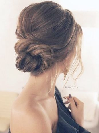 New Simple Wedding Hairstyles Simple Wedding Bun Hairstyles Hair Styles Long Hair Styles Low Bun Hairstyles