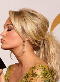 Carrie Underwood Hairstyles Ponytail