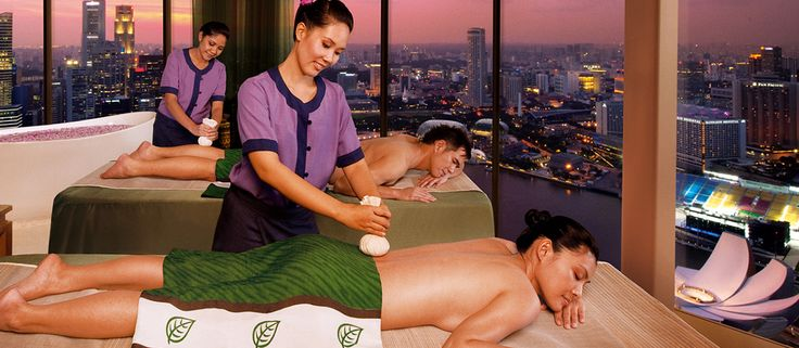 Enjoy a romantic couples spa retreat at the Marina Bay Sands in Singapore