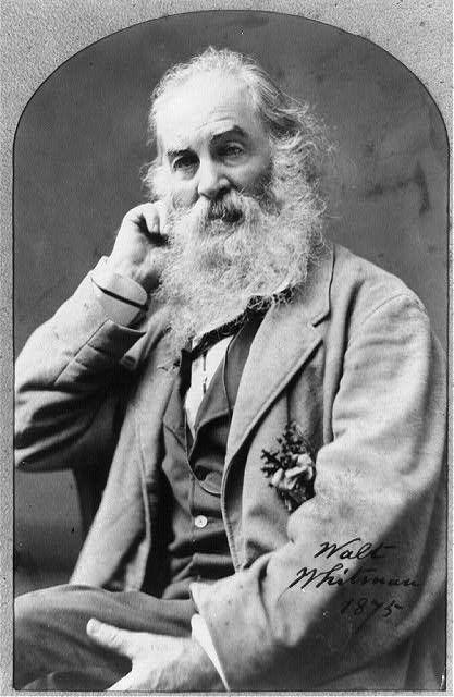 """Walt Whitman (from """"Escrito en las Estrellas"""" blog."""