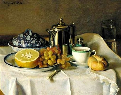 Elizabeth Okie Paxton, Continental Breakfast, Early 20th century
