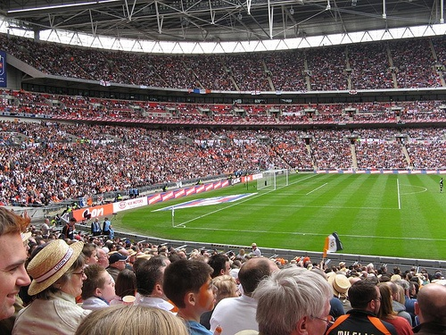 Luton Town FC, 40,000 Hatters fans @ Wembley for the 2009 JPT Final