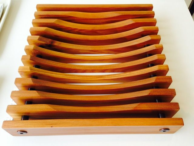 Slat Fruit Bowl by Charles Anderson - $100 each at After Stonewall - 370 Bank Street.