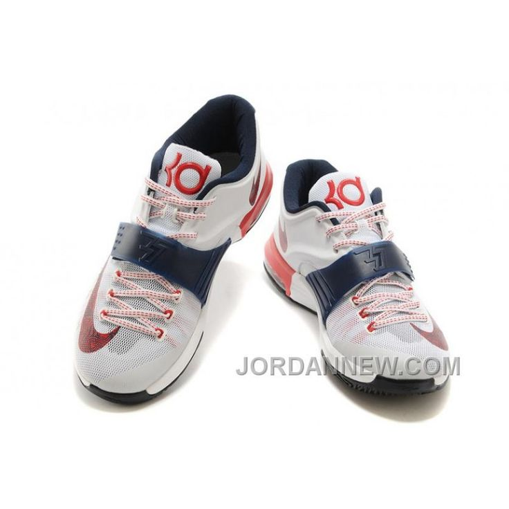 "Nike Kevin Durant KD 7 VII ""USA"" Mens Basketball Shoes Free Shipping"