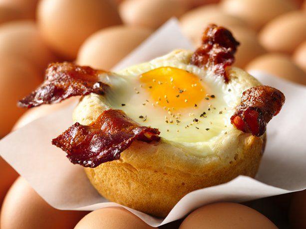 Bacon and Egg Savory cupcakes!
