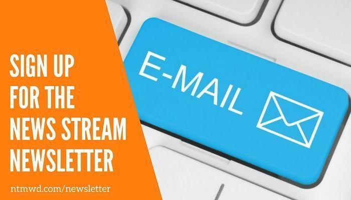 Cool Interested in learning more about water issues in North Texas? Subscribe to our News Stream newsletter and stay up to da...   NTMWD on Instagram