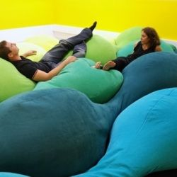 I want a pillow room!!! :D that would be awesome! .... And really hard to get out of....