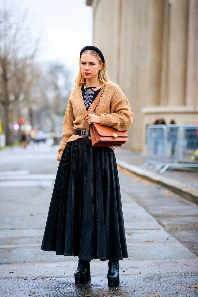 Street style: comment adopter la tendance du cardigan   – Vêtements et accessoires à porter