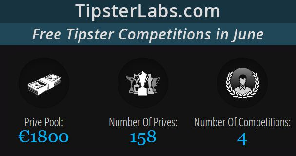 Join TipsterLabs Tipster Competitions In June - Total Prize Pool: €1,800