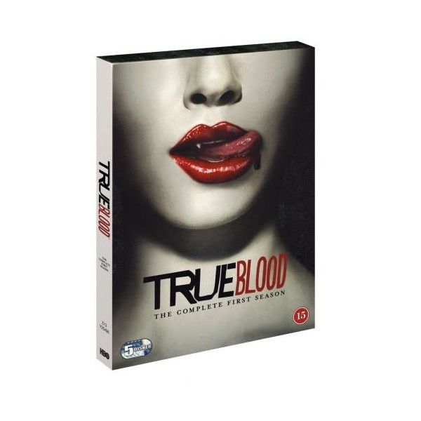 Køb True Blood: season 1 / True Blood: The Complete First Season - DVD... ❤ liked on Polyvore featuring movies, true blood, fillers and entertainment