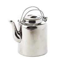 Pols Potten silver ceramic kettle