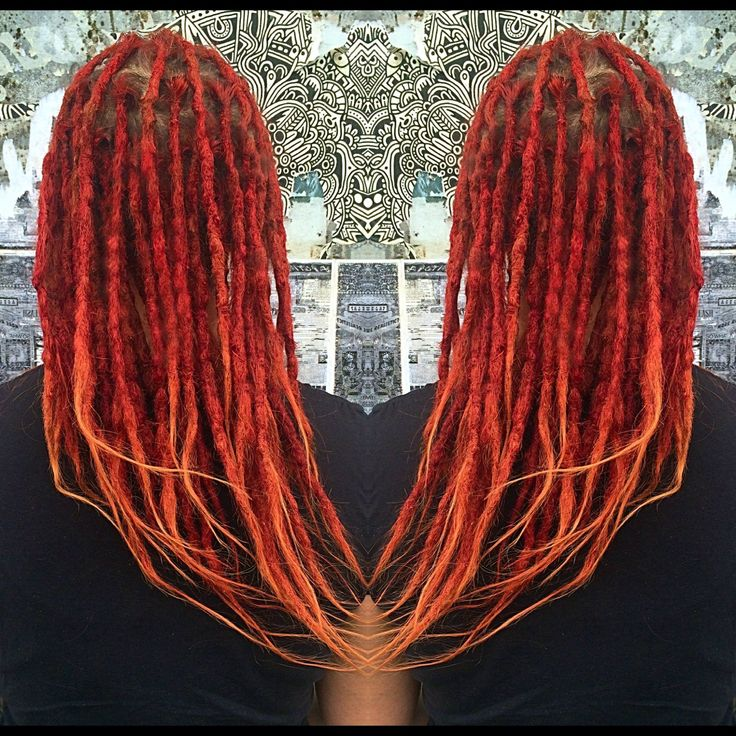 Rebel Rebel Organic Hair and Dreadlock Salon | Dreadlocks, natural crochet dreadlocks, dreadlock salon philadelphia, women with dreadlocks, long hair dreadlocks, red dreadlocks