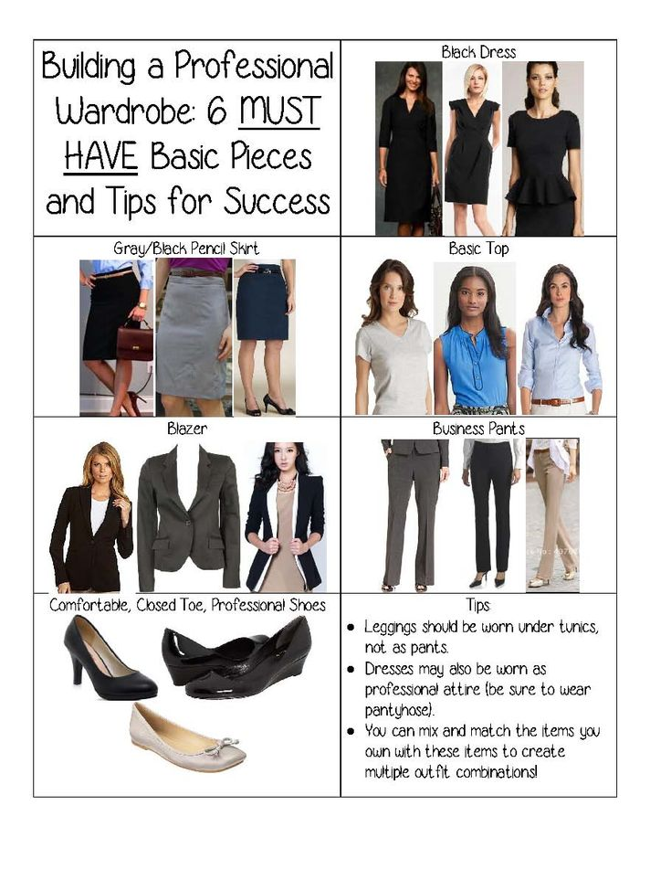 Wardrobe Must Haves: 6 MUST Have Basic Pieces To Build Your Professional