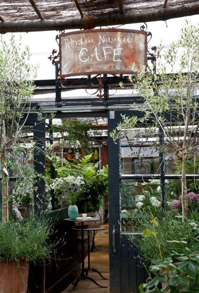 petersham nurseries richmond surrey uk - Slate Cafe Decoration