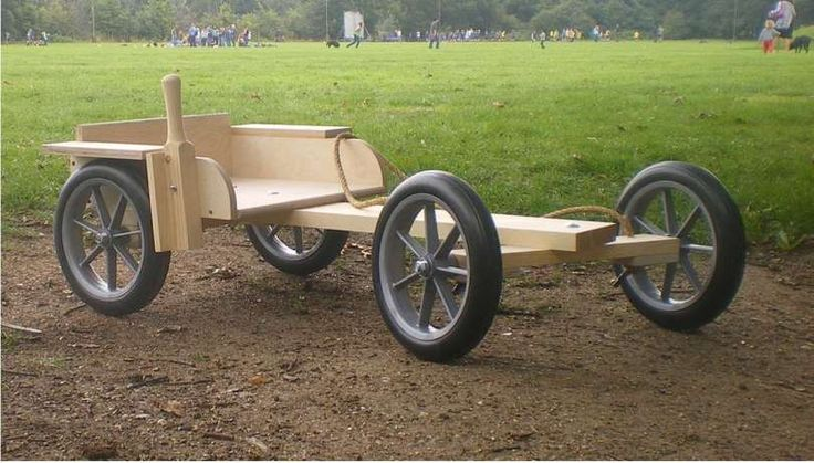 Wooden Go Kart | Kombi Kart - For Outdoors