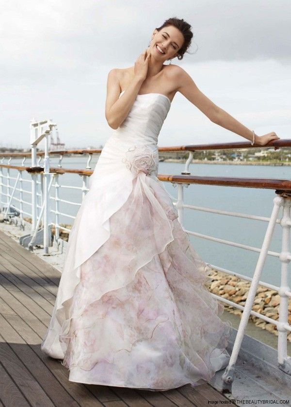 49 best dressess from bridal boutiques in gta images on for Beach wedding dresses davids bridal