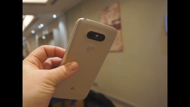 LG G5 Hands On Video at MWC 2016