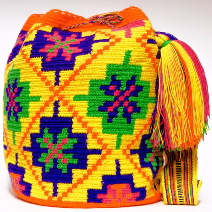 One of A Kind Wayuu Mochila Bag - Quick Ship Anywhere, and International!  $185.00 #wayuubags www.wayuutribe.com
