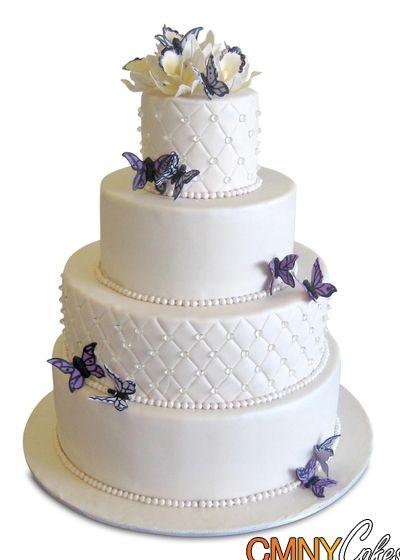 Wedding+Cakes+With+Diamonds   edible sugar diamonds wedding cake this 4 tier wedding cake is a ...