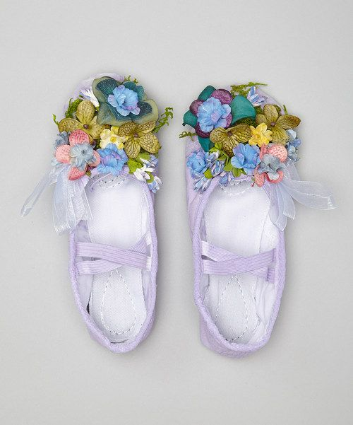 Look at this #zulilyfind! Lavender Fairy Slippers by Enchanted Fairyware Couture #zulilyfinds