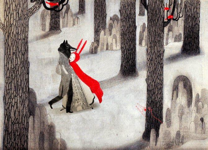Isabella Mazzanti, Red Riding Hood