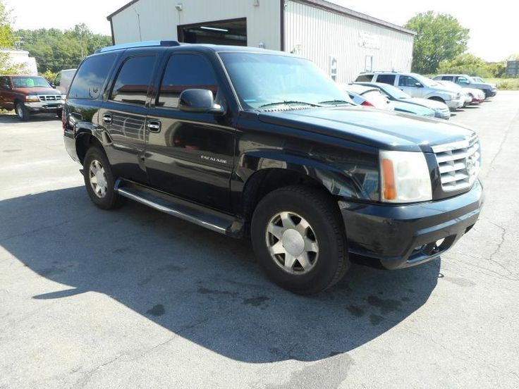 2002 Cadillac Escalade AWD 4dr SUV **FOR SALE** By Settle Auto Sales STATE RD. - Settle Auto Sales - 4737 State Road 930 East Fort Wayne, IN