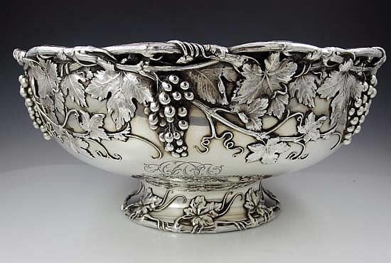 Gorham Sterling Silver Punch Bowl Or Centerpiece With