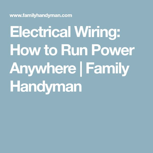 98 best Electrical images on Pinterest | Electric, Electrical ...