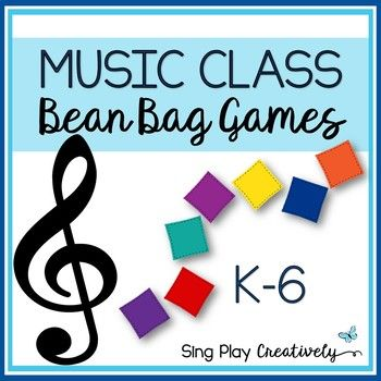 K-6 Music Class Games to Assess, Review, Reward students. You can play these fun and easily adaptable games with just a couple of bean bags. Especially useful before a Holiday or Break and for End of the Year Activities.Resource Includes: 8 (Eight) Games with directions and adaptations for grades K-6 in Poster size and Mini-Card size.Printable Black and White Booklet of the game directions.Print, cut and laminate the mini-cards to hang on a ring for easy use.Use for a substitute in your sub…