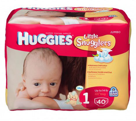HUGGIES Little Snugglers Diapers for Preemies | NICU Diaries: 10 Disney Products for Your Preemie Baby | DisneyBaby.com