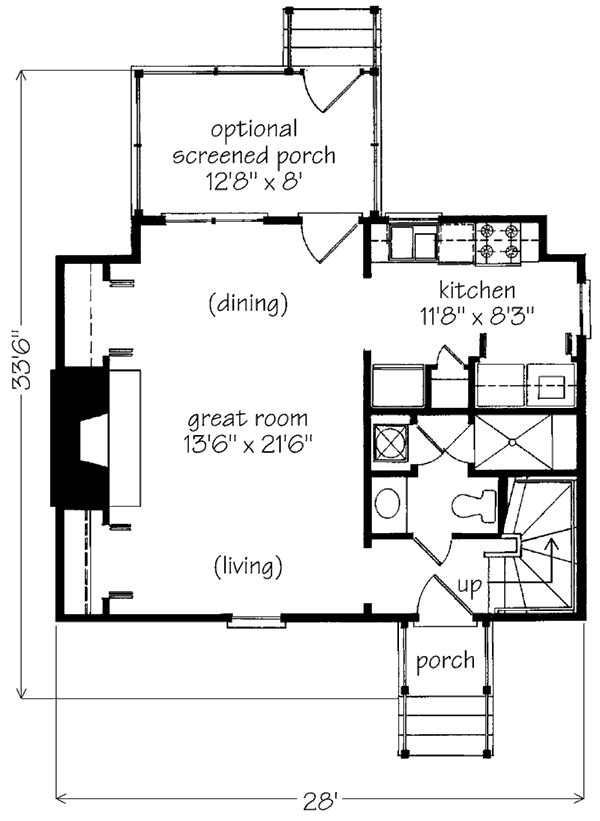 213 Best Images About Small Tiny House Floorplans On