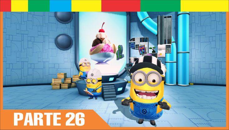 Despicable Me Minion Rush Espanol Completa nivel 26 Minions Juegos Para Niños y Bebes Español - YouTube