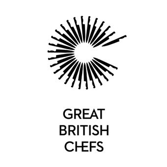 Logo for the Great British Chefs app designed by Hat-trick.