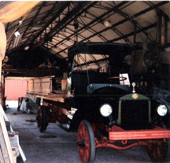 This is a 1915 (approx. year) Oneida World War I Army truck. This truck was never put into service because the war was over, Therefore it has only 900 miles!