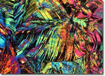 Molecular Expressions Microscopy Primer: Specialized Microscopy Techniques - Polarized Light Microscopy Gallery - Vitamin K3