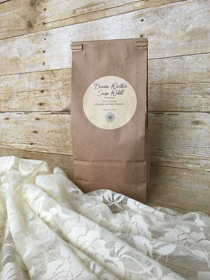 This handmade laundry soap is perfect for anyone trying to go natural or trying to find detergent for sensitive skin. Containing soap that is made with pure lye and other soft ingredients. Choose from a 32oz scented or unscented refill bag and soon you will have enough soap to clean approx 64 loads. HE safe!