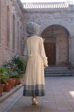 Pınar Şems Etek Hayat PS-5770 Mavi