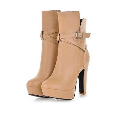 damskie buty masywny obcas platformy Botki przypadkowi buty więcej kolory dostępne – EUR € 27.22
