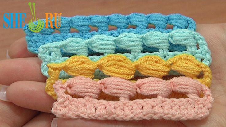Beginner Crochet Stitch Tutorial : Puff Stitch Worked Around Post How to We invite you to ...