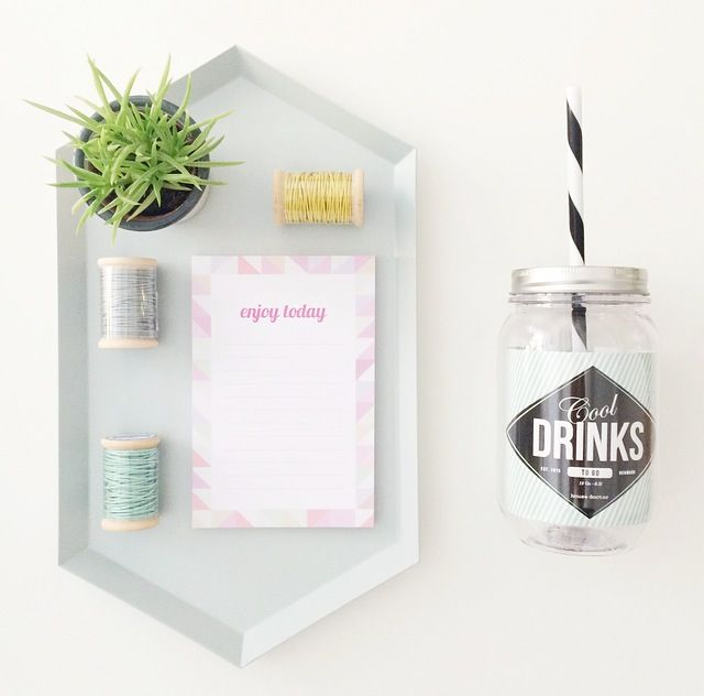 Mood Picture for l'Igloo / Tray Hay / Note Block Petite Mila / Cool Drink House Doctor /  © @mytrendbook