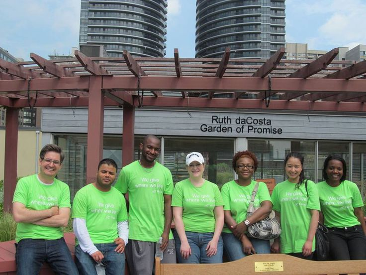 Our good friends from TELUS weren't afraid to get their hands dirty for our kids today. They planted the first plants of the season in our rooftop garden, which includes flower beds, a pond and vegetables for our kitchen. It was part of the TELUS Day of Giving #GiveWhereyouLive campaign. Thank you, TELUS!