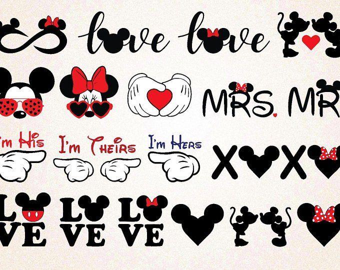Disney Castle Svg Disney Silhoutte Minnie Svg Mickey Svg Disney