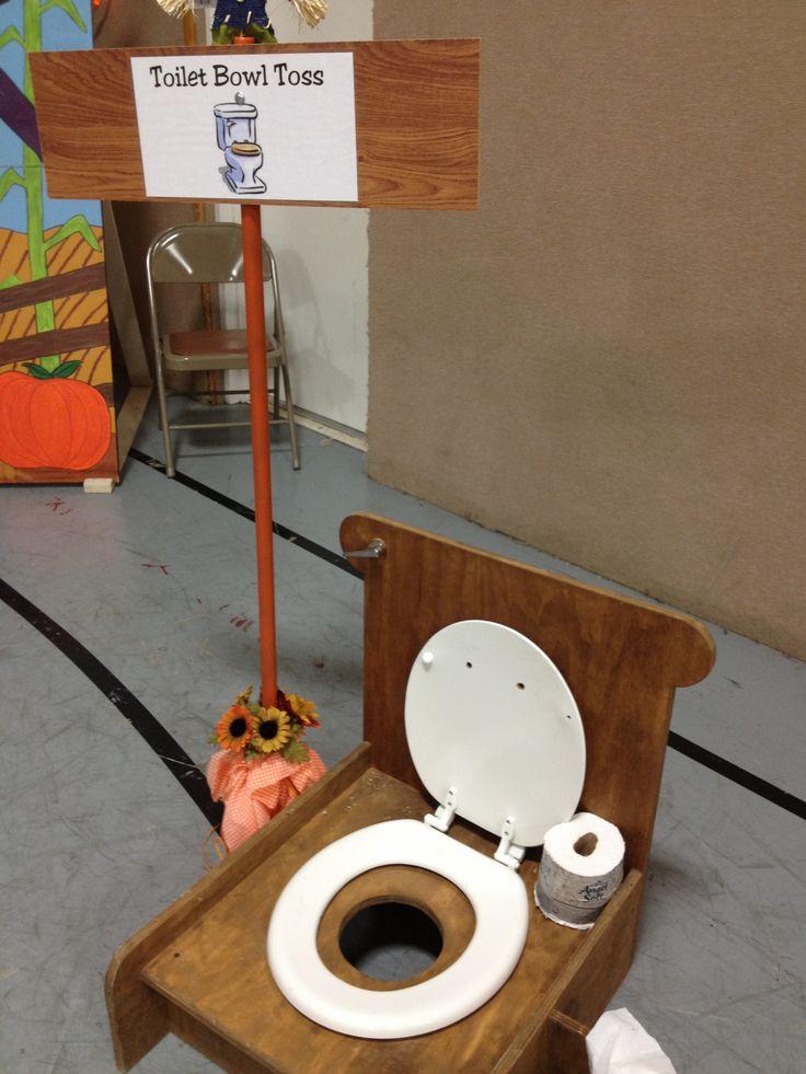 Toilet Bowl Toss Carnival Game Fun Fair Pinterest